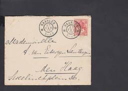 PAESI BASSI  1906 - Lettera - Periode 1891-1948 (Wilhelmina)
