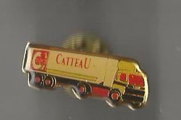 Pin's Transports Catteau - Transportation