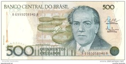 BRAZIL 500 CRUZADOS ND (1987) P-212 UNC  [BR834c] - Brazil