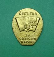 CROATIAN EDUCATIONAL PIN - Administrations
