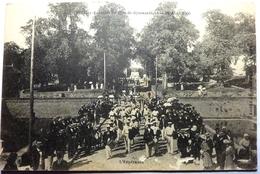 FÊTE DE LA GYMNASTIQUE - 25 AOÛT 1906 - DOUÉ LA FONTAINE - Otros Municipios