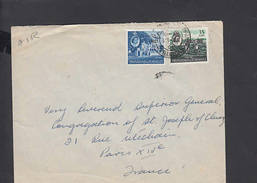 TRINIDAD & TOBAGO  1962 - Lettera  Per La Francia - Trindad & Tobago (1962-...)