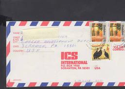 ZIMBABWE  1995 - Lettera Per U.S.A. Con Yvert 96 - Zimbabwe (1980-...)