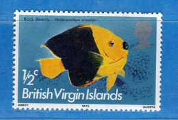 (Mn1) VIRGIN ISLAND **-1975 - POISSONS . Yvert. 282.  MNH.  Vedi Descrizione. - British Virgin Islands