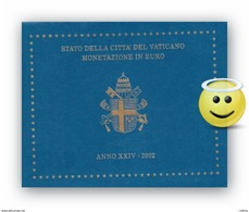 Vatikan Euro KMS 2002 Stempelglanz Im Orig. Folder SELTEN - Vaticano
