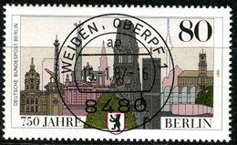 Berlin - Mi 776 - Zentrisch OO Gestempelt (A) - 80Pf  750 Jhre Berlin - Berlin (West)