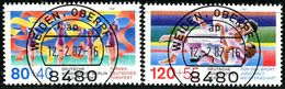 Berlin - Mi 777 / 778 - Zentrisch OO Gestempelt (A) - Sporthilfe 1987 - Berlin (West)
