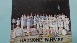CPSM HARMONIE FANFARE L ETOILE CHAMPENOISE 20 ALLEE DES CHAMPENOIS 51 100 REIMS SS DIRECTION DE JO SANTINI - Musique Et Musiciens