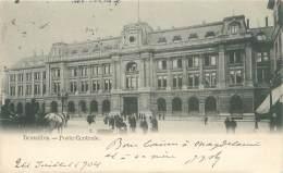 BRUXELLES - Poste Centrale - Monuments