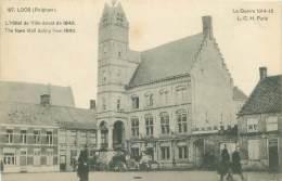 LOOS - Guerre 1914-15 - L'Hôtel De Ville Datant De 1640 - Lo-Reninge
