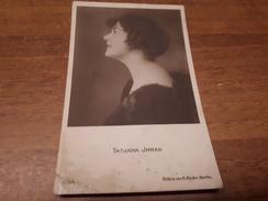 Postcard - Film, Actor, Tatajana Jrrah    (25684) - Schauspieler