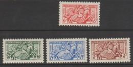 Monaco 1955 : N° 415 - 417 - 418 - 419 -  - Neufs * - Monaco