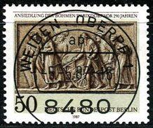 Berlin - Mi 784 - Zentrisch OO Gestempelt (A) - 50Pf  Ansiedlung Der Böhmen In Rixdorf - Berlin (West)