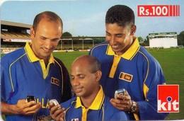 TARJETA TELEFONICA DE SRI LANKA (FUTBOL) (751) - Sri Lanka (Ceylon)