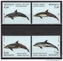 MONACO 1992 - SERIE N° 1821 A 1824 - 4 TP NEUFS** - Monaco