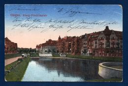 Pologne. Glogau ( Glogow). König-Friedrichplatz. Feldpost Glogau  Avril 1917 - Pologne