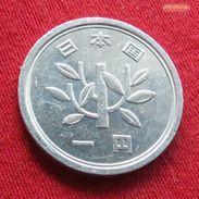 Japan 1 Yen 1988 / 63 Y# 74  Japão - Giappone
