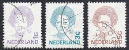 NEDERLAND - PAYS BAS -  OLANDA - 1992 - Lotto 3 Valori Usati: Yvert 1415, 1417 E 1418. - Norwegen