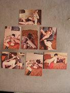 Lot De 6 Photos Anciennes Porno Vintage Lesbiennes Femmes Erotique Curiosa - Beauté Féminine (1941-1960)