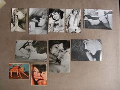 Lot De 10 Photos Anciennes Porno Vintage Couples Erotique Curiosa - Beauté Féminine (1941-1960)