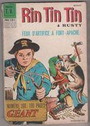 BD RIN TIN TIN GEANT SAGEDITION PARIS 1969 - DES AGENTS TRES SPECIAUX, LES MYSTERES DE L OUEST, KID BOY, VOIR LE SCANNER - Rintintin