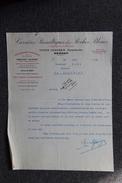 Lettre Ancienne - BESSAN, Louis GLEIZES, Carrières Basaltiques Des Roches Bleues. - 1900 – 1949