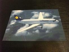 AEREO IN VOLO LUFTHANSA AIRBUS A319 100 - 1946-....: Era Moderna