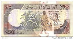 SOMALIA P. R2 50 S 1991 UNC - Somalia