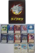 Live On : 11 Japanese Trading Cards - Trading Cards