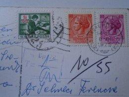 D153454 Hungary Postage Due  PORTO  Stamp  - Italy Italia - Limone Piemonte - Segnatasse