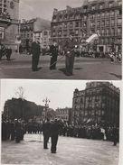 Guerre D'Indochine Remise Du Drapeau à St Mandé Par Général 5 étoiles 2 Photos 18x12cm Originales - War, Military