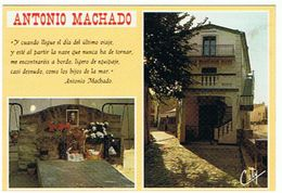 COLLIOURE ANTONIO MACHADO  GRAND PENSEUR ET POETE ESPAGNOL  MULTIVUES     ****   A  SAISIR ***** - Collioure
