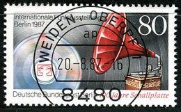 Berlin - Mi 787 - Zentrisch OO Gestempelt (A) - 80Pf  Funkausstellung 1987 - Berlin (West)