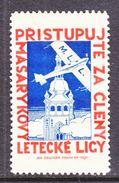 CZECHOSLOVAKIA  AIR BRIGADE   1931  *  AEROPHILATELIC  LABEL - Airmail