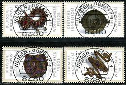 Berlin - Michel 788 / 792 - Zentrisch OO Gestempelt (B) - Gold- Und Silberschmiedekunst, Wohlfahrt 1987 - Berlin (West)