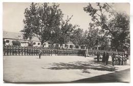 BEOGRAD, Atelier ŽAK KOEN - KINGDOM OF YUGOSLAVIA, ARMY, MILITARY OATH, REAL PHOTO PC, 1930s - Uniformes