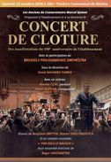 Binche Rosella Clini Olivier Dufour Roger Verstraeten Conservatoire Marcel Quinet Concert De Clôture 10/2016 - Programma's