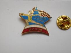 Beau Pin's En EGF  , Pin Up , Gymnastique Rythmique , Ruban , Goodwill Games , Seattle 90 - Gymnastiek
