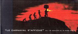 Gille Flyer Annonçant L'Exposition Le Carnaval S'affiche, La Louvière 03/2008 (illustration De Mehdy Nasser) - Programma's