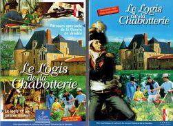 Dossier Pédagogique Sur Le Logis De La Chabotterie, St-Sulpice Le Verdon, Vendée (2005) - Dépliants Touristiques