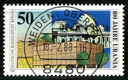 Berlin - Mi 804 - Zentrisch OO Gestempelt (B) - 50Pf  100 Jahre Urania Berlin - Berlin (West)