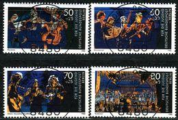 Berlin - Mi 807 / 810 - Zentrisch OO Gestempelt (B) - Jugend Musiziert, Jugend 1988 - Berlin (West)