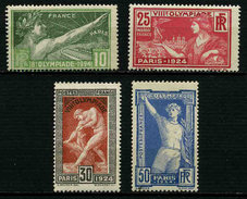 FRANCE -  YT 183 à 186 ** - SERIE COMPLETE 4 TIMBRES NEUFS ** - France
