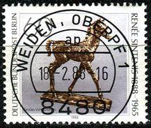 Berlin - Mi 805 - Zentrisch OO Gestempelt (A) - 60Pf  Renée Sintenis - Berlin (West)