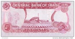 IRAQ P.  80a 5 D 1992 UNC - Irak