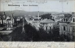 Cp Liberec Reichenberg Stadt, Blick In Die Kaiser Josef Straße - Czech Republic