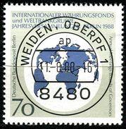 Berlin - Michel 817 - Zentrisch OO Gestempelt (B) - 70Pf  Währungsfond IWF - Berlin (West)