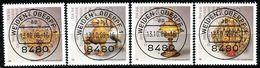 Berlin - Mi 818 / 821 - Zentrisch OO Gestempelt (A) - Gold- Und Silberschmiedekunst, Wohlfahrt 1988 - Berlin (West)