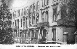 Antwerpen Anvers   Berchem    Generaal Van Merlenstraat    I 938 - Antwerpen