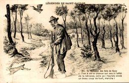 LEGENDES DE SAINT SAULGE LE CHASSEUR DE BECASSE - France